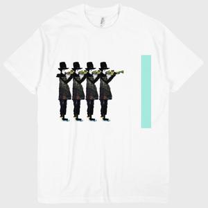 鼓翼のトランペット デザインTシャツ