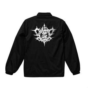 COALTAR OF THE DEEPERS - BLACK METAL LOGO (1st Edition) COACH JACKET