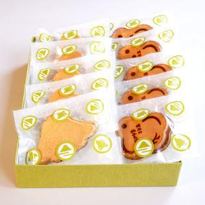 「富士せんべい・柚ちどり3枚入り」10袋セット