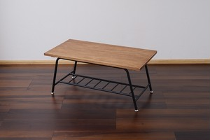 Antique Process Low Table / アンティークスタイル アンティーク加工 ローテーブル