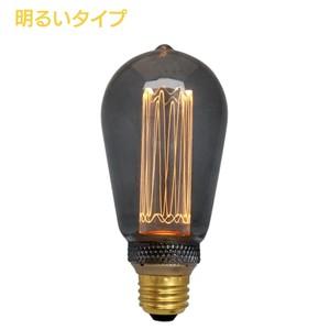 (非調光)E26 エジソンバルブ LED ノスタルジア ロング(明るいタイプ)