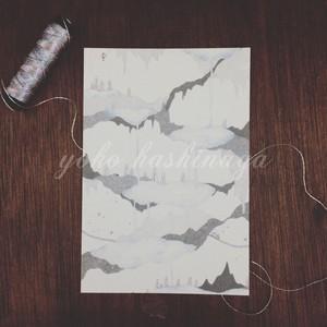 ポストカード:thousand lakes