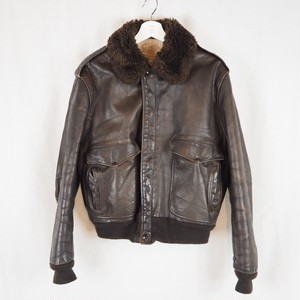 60's Leather Flight Jacket