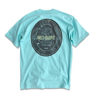 GETABACO×COZY HOUSE TOKYO [NOT-GORE] S/S TEE 【MINT】