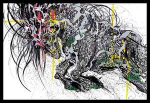 Black Horse 【Duplication】A4