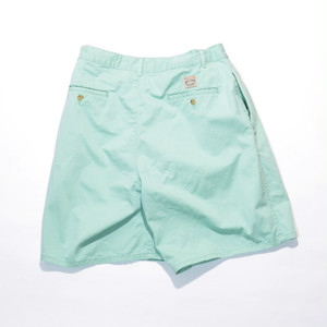 Used☆ POLO Ralph Lauren 2tuck CHINO Shorts(緑青 ※自由の女神カラー)