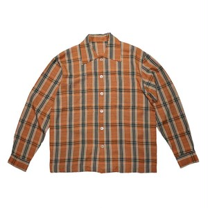 """PACKER'S"" Acryl Open Collar L/S Shirts"