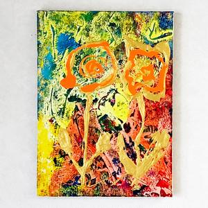 エネルギーアート 「花が咲く」