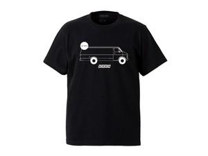 T-SHIRT M319104-BLACK / Tシャツ ブラック BLACK  / MARATHON JACKSON マラソン ジャクソン