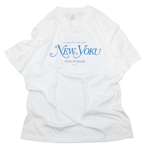 """New Yoku"" Tee Blue"