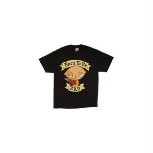 ステューウィー・グリフィン/Stewie Griffin Born To Be BAD プリントTシャツ