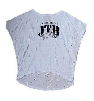 【JTB】 DAMEGE LONG トップス【ホワイト】【再入荷】イタリアンウェア【送料無料】《M&W》