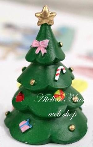 クリスマスツリー(飾り付) シリコンモールド