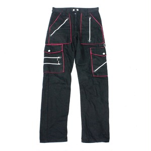 zip bondage pants