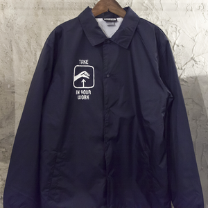 Take pride in your work Coach jacket