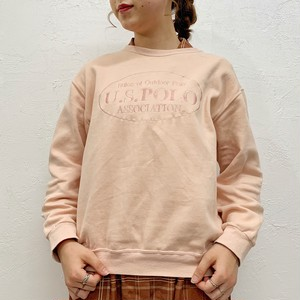 "(LOOK) ""U.S.POLO"" logo sweat"