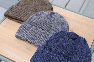 ISLAND KNIT WORKS / GIMA COTTON KNIT CAP