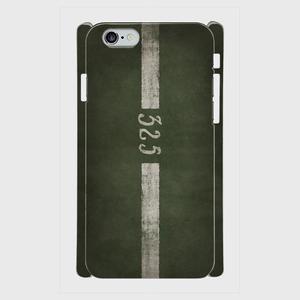 ソ連軍戦車単色迷彩車両番号 iPhoneケース