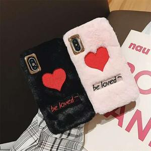 オリジナル 大人気 INS アイフォンXSケース 可愛いデザイン ラブラブハート ふんわり 簡潔 iphoneXR携帯カバー カップル向けスマホケース