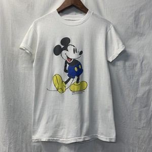 "70's~ ""Mickey Mouse"" Print Tee"
