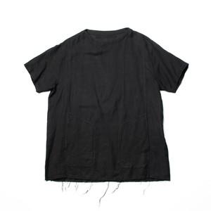 627SHM5-BLACK / プルオーバースラッシングシャツ