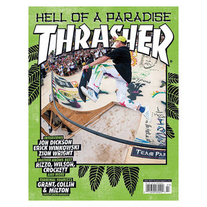 THRASHER - JULY 2018. Issue 456