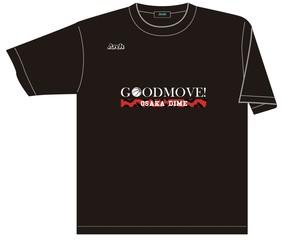 OSAKA DIME 2021 オリジナルTシャツ BLACK