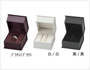 リングケース リング棒付きボックス 合皮ケース ブレアコレクション12個入りRA-101B