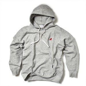 PULLOVER PARKA / RED FIN / HEATHER GRAY
