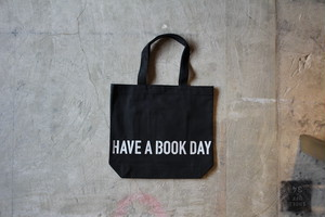 HAVE A BOOK DAY ボトムロゴ シルバー BLACK