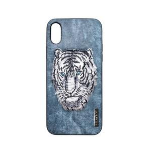Iplaybox® Japan タトゥー シリーズ TATTOO SERIES iPhone X 対応 CASE - Blue Tiger pattern - Japan Designer limited edition 限定版 青虎
