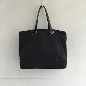 FENDI zucca nylon mini tote bag