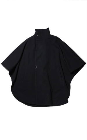 Boiled Wool Kasa Coat / yantor