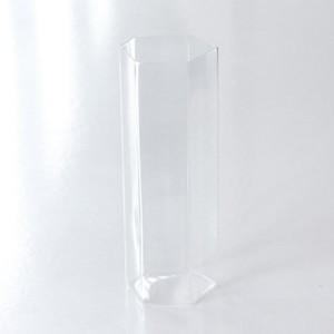 吉沼硝子 変形角柱グラス 大