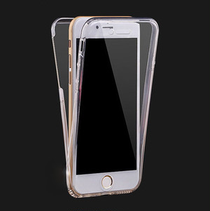 iphone6 TPU フルカバー ケース (iphone6, クリア) bpab054