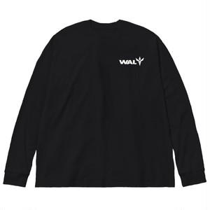 WAI. ブラックロングTシャツ