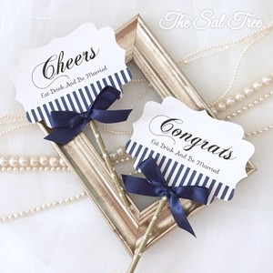 【size1】Photo Props(Cheers&Congrats/Navy)