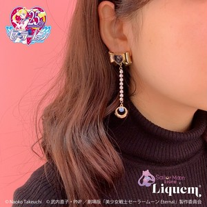 Sailor Moon store x Liquem / スーパーセーラーマーキュリーリボン・イヤリング