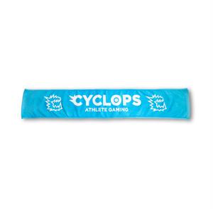 CYCLOPS athlete gaming オリジナルマフラータオル