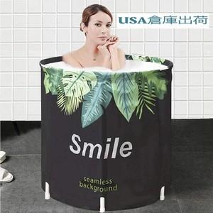 BestonStyle ポータブル折りたたみ式バスタブ、SPA浴槽