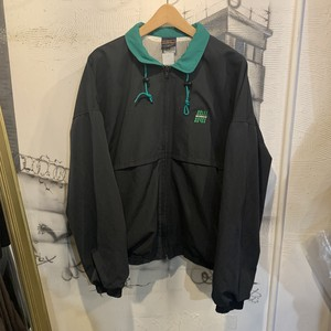 polyester cotton  zip-up jacket