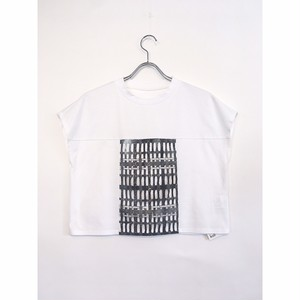 """koll"" Block lace t-shirt"