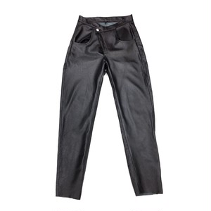 NEITH NYER LEATHER TROUSER