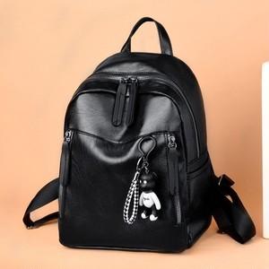 Backpack Leather Bag Casual Sac カジュアル レザー バックパック リュック (HF99-6494757)