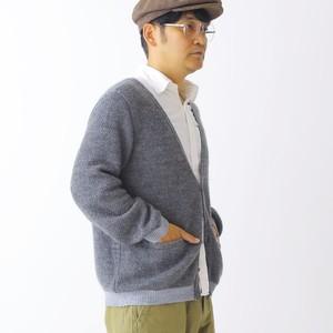 420005_Combination Mohair Cardigan(グレー)