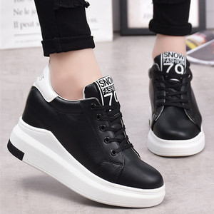 【sneakers】 casual  running solid color thick bottom sneakers