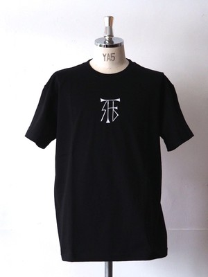 FUJITOSKATEBOARDING Print T-Shirt  Black (Mark ver.)