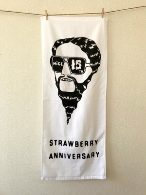 「STRAWBERRY ANNIVERSARY」 Face Towel