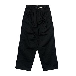 NOROLL / THICKWALK DUCK PANTS -BLACK-