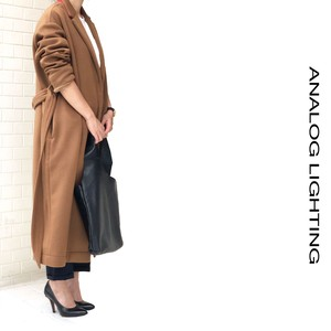 Cashmere Long Coat/CAMEL